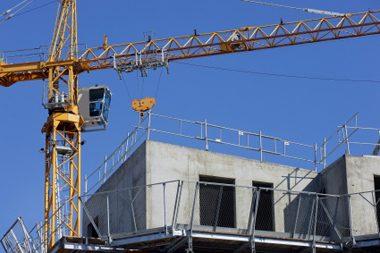 logements en construction