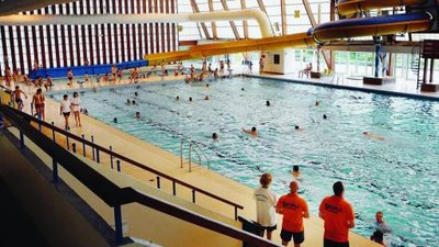 Risques d effondrement la piscine olympique de reims for Piscine tiolette reims