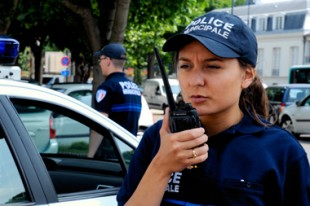 police municipale radio communication