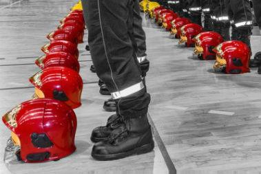 Le service civique gagne encore à être développé chez les pompiers