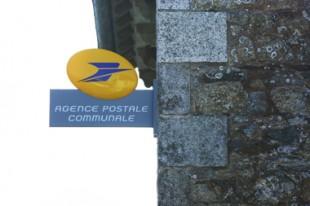 Enseigne d'une agence postale communale