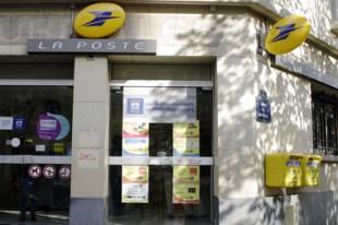 Bureau de poste moderne extérieur
