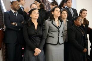 Première rentrée, le 7 octobre 2009, de la première classe préparatoire au concours externe de l'ENA.