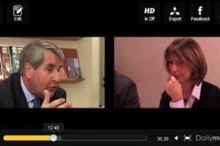 Philippe Richert, ministre chargé des collectivités territoriales, face aux lecteurs de la Gazette