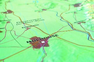 A ce jour, le SIG du Rhin supérieur comporte 183 cartes transfrontalières.
