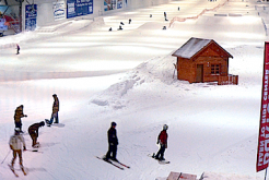piste de ski indoor d'Amnéville