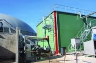 Le Sydeme, syndicat mixte mosellan, a installé son nouveau centre de méthanisation à Sarreguemines, sur une friche industrielle.