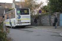 Bus de transport scolaire