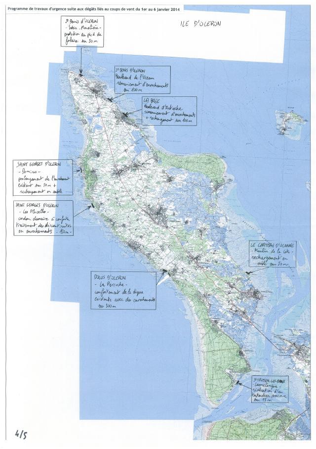 Travaux d'urgence programmés sur l'île d'Oléron [Cliquer pour agrandir]