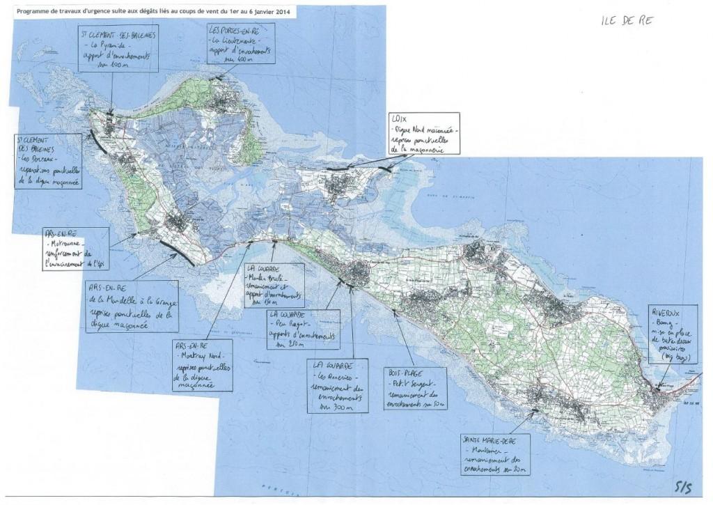 Travaux d'urgence programmés sur l'île de Ré [Cliquer pour agrandir]