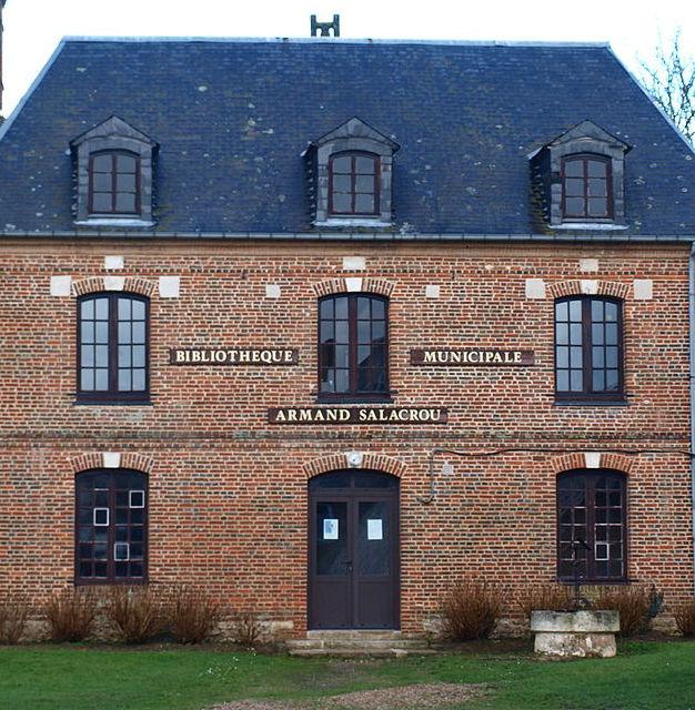 Bibliothèque de Trouville-la-Haule (Eure)