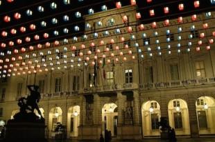 L'hôtel de ville de Turin.