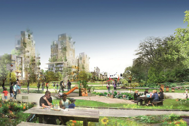 Central Park à La Courneuve : logements contre espaces verts