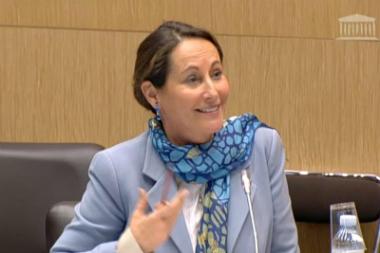 Transition énergétique : Ségolène Royal passe sur le gril des sénateurs
