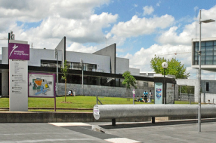 Le site des Chênes de l'université de Cergy-Pontoise.