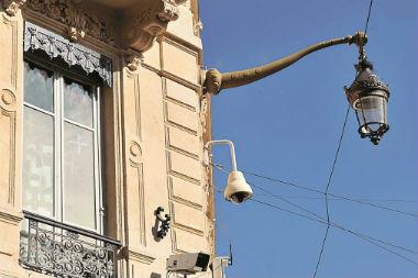 Les caméras de la ville de Lyon au service des pompiers