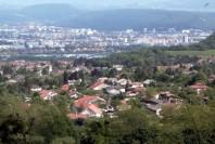 La ville de Seyssins, dans l'agglomération de Grenoble (Isère)